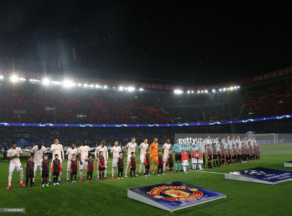 Paris Saint-Germain v Manchester United - UEFA Champions League Round of 16: Second Leg : News Photo