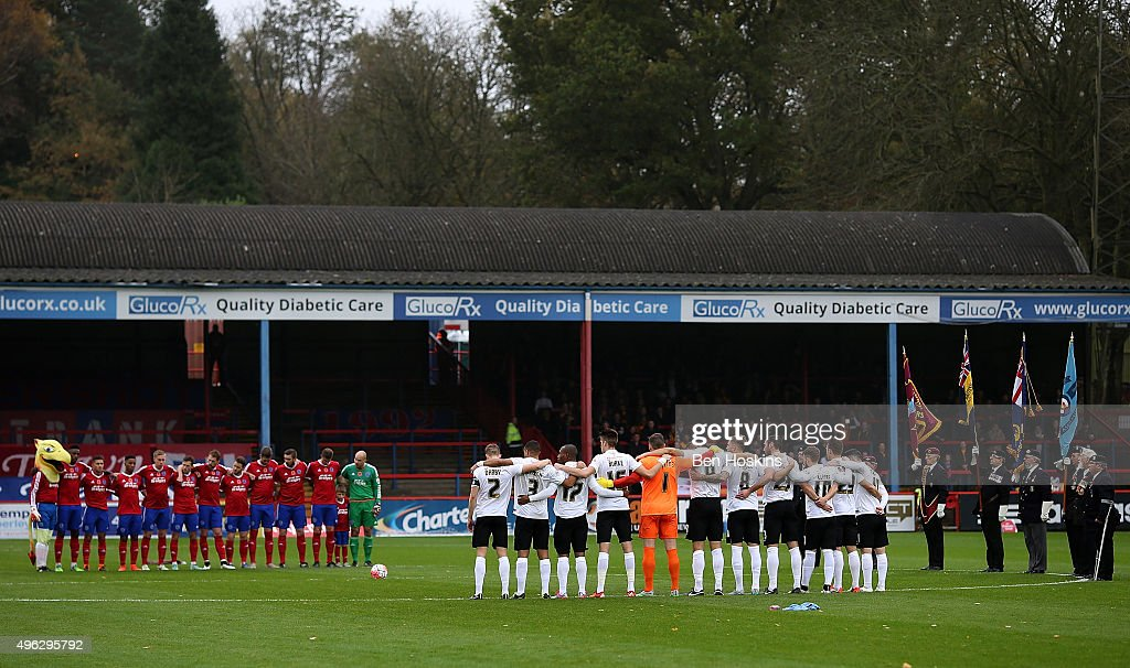 aldershot town v bradford city the emirates fa cup first round
