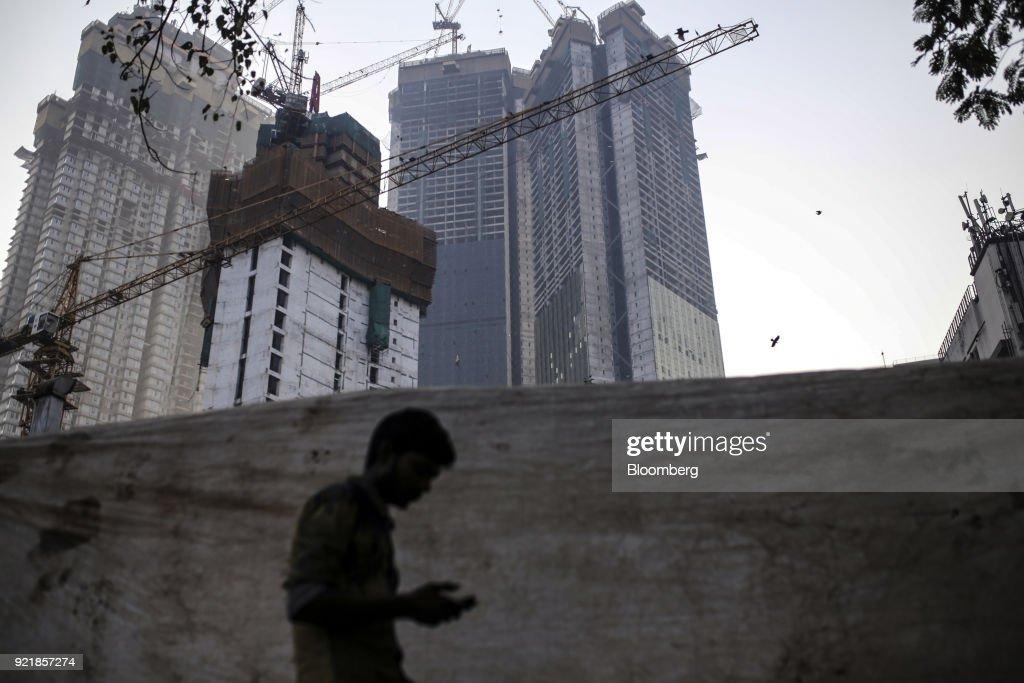 Ongoing Construction at Trump Towers Mumbai as Donald Trump Jr. Visits India