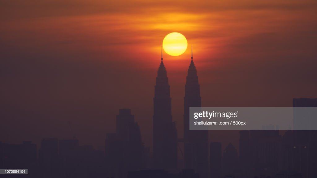 The Two Towers : Stock Photo