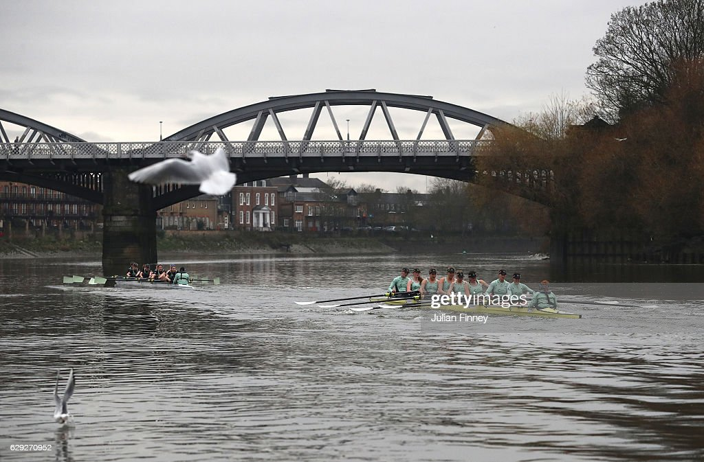 BNY Mellon Boat Race - Cambridge Trial Eights : ニュース写真