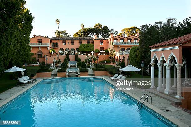 The two-house, five-acre Beverly Hills estate, the onetime residence of newspaper czar William Randolph Hearst and his girlfriend, actress Marion...