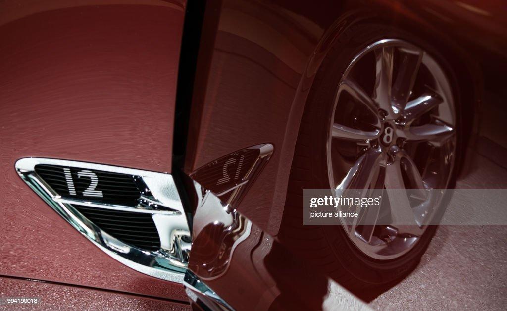 IAA Frankfurt - Bentley Pictures | Getty Images on