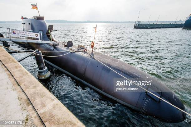 The UBoot 'U35' during the commissioning ceremony at the naval base in Eckernfoerde Germany 23 March 2015 Photo Markus Scholz/dpa | usage worldwide
