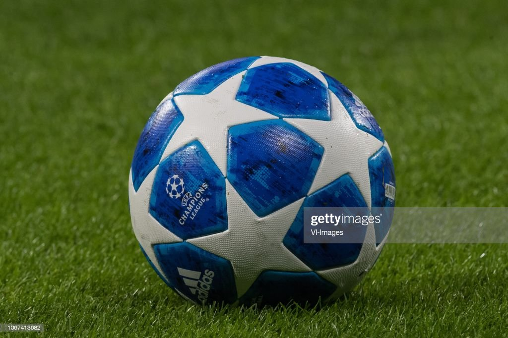 the uefa champions league ball season 2018 2019 of adidas during the news photo getty images the uefa champions league ball season 2018 2019 of adidas during the news photo getty images
