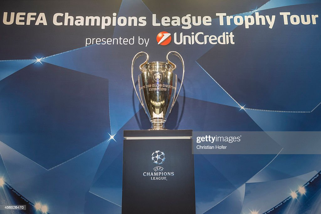 UEFA Champions League Trophy Tour Vienna Presented by UniCredit : News Photo