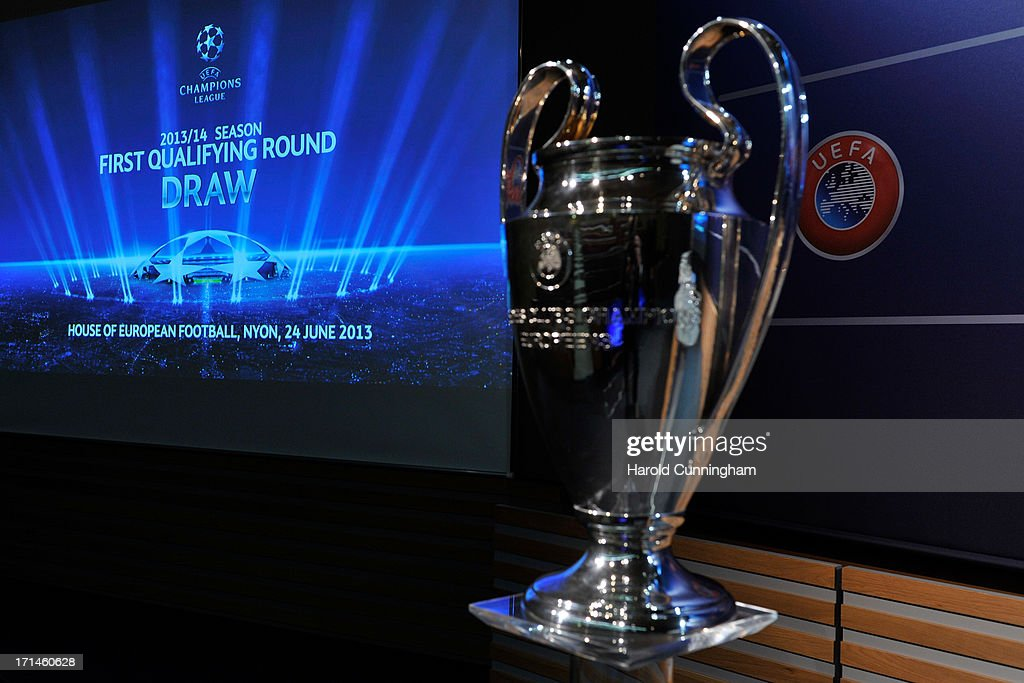 UEFA Champions League and UEFA Europa League - Q1 and Q2 Qualifying Round Draw : News Photo