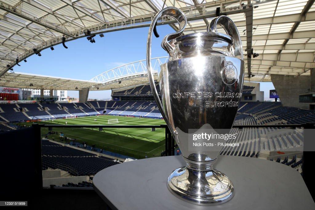 Manchester City Training - UEFA Champions League Final - Estadio do Dragao : News Photo
