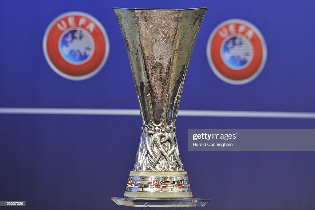 UEFA Champions League and UEFA Europa League - Play-off Round Draw : News Photo
