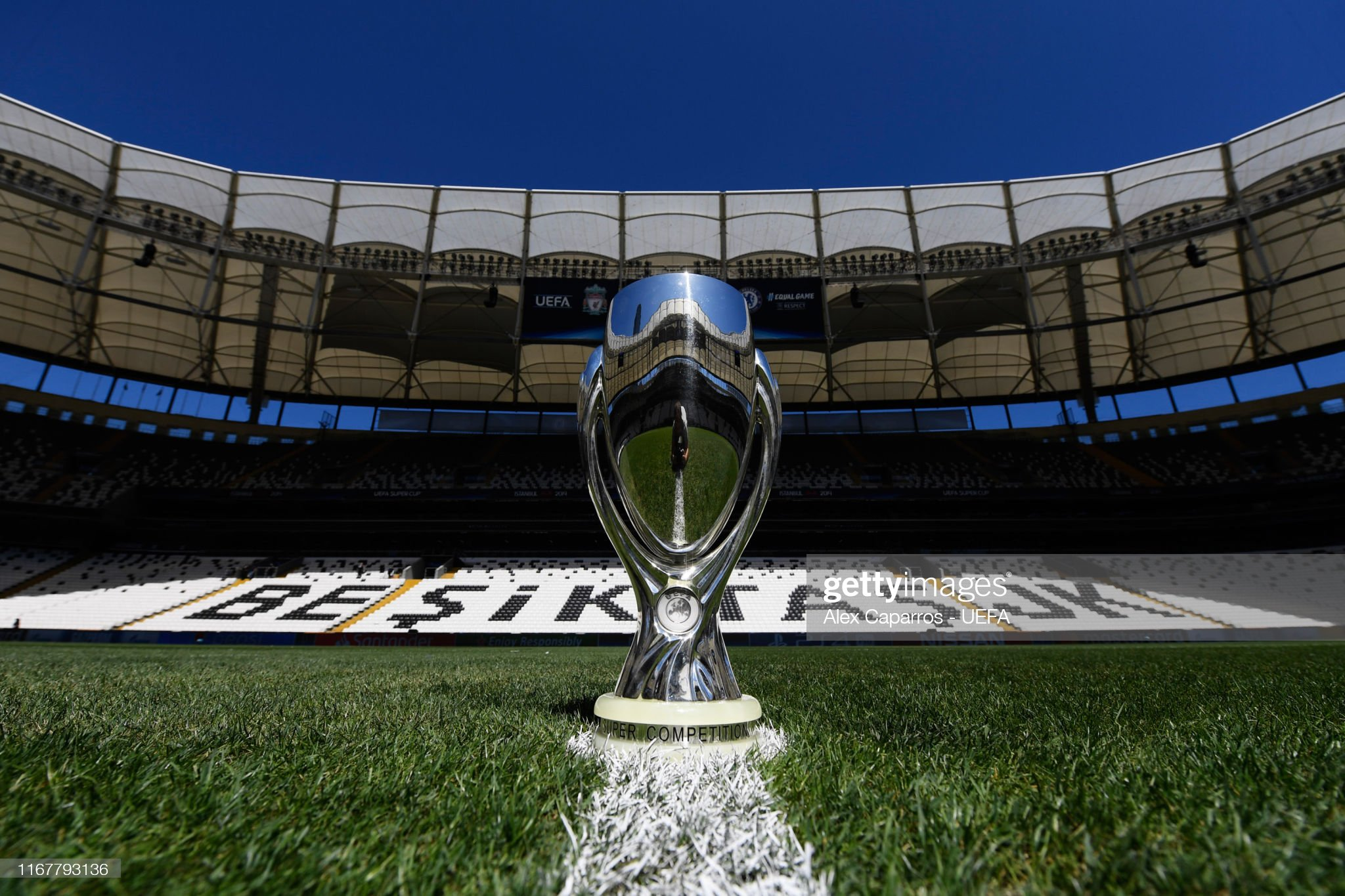 Liverpool v Chelsea: UEFA Super Cup Previews : News Photo