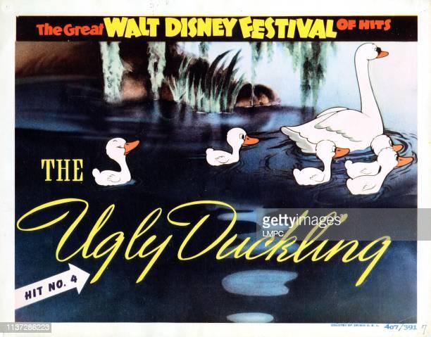 The Ugly Duckling lobbycard Disney animation 1939