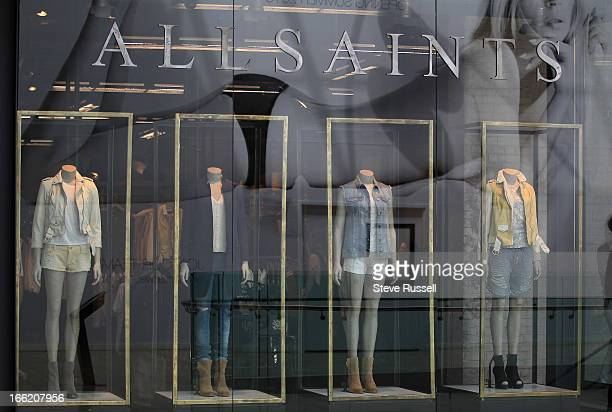 The UK fashion retailer AllSaints open a boutique at the Yorkdale Shopping Centre in Toronto