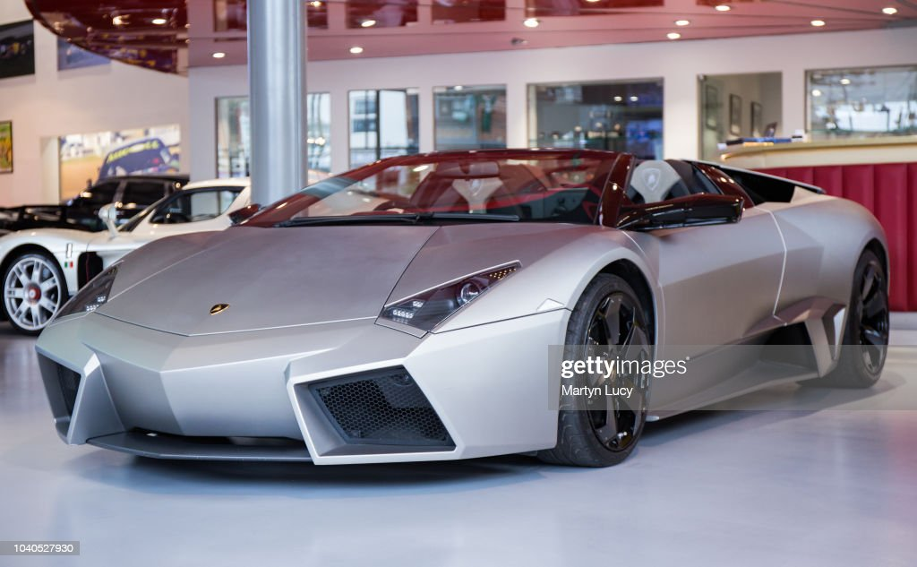 The Ultra Rare Lamborghini Reventon Displayed For Sale At Joe Macari