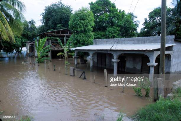 The Ulva river floods parts of the town of El Progresso Honduras October 1999 leaving many people without shelter In October 1998 Hurricane Mitch...