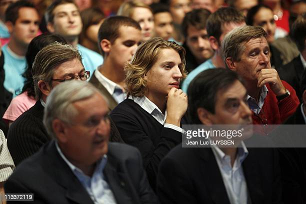 The Ump Campus In Royan France On September 07 2008 JeanPierre Raffarin Jean Sarkozy and Francois Fillon