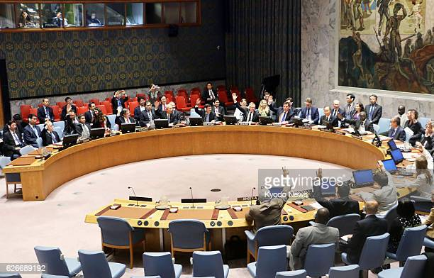 The UN Security Council adopts a resolution on Nov 30 imposing new sanctions against North Korea ramping up earlier punitive measures following the...