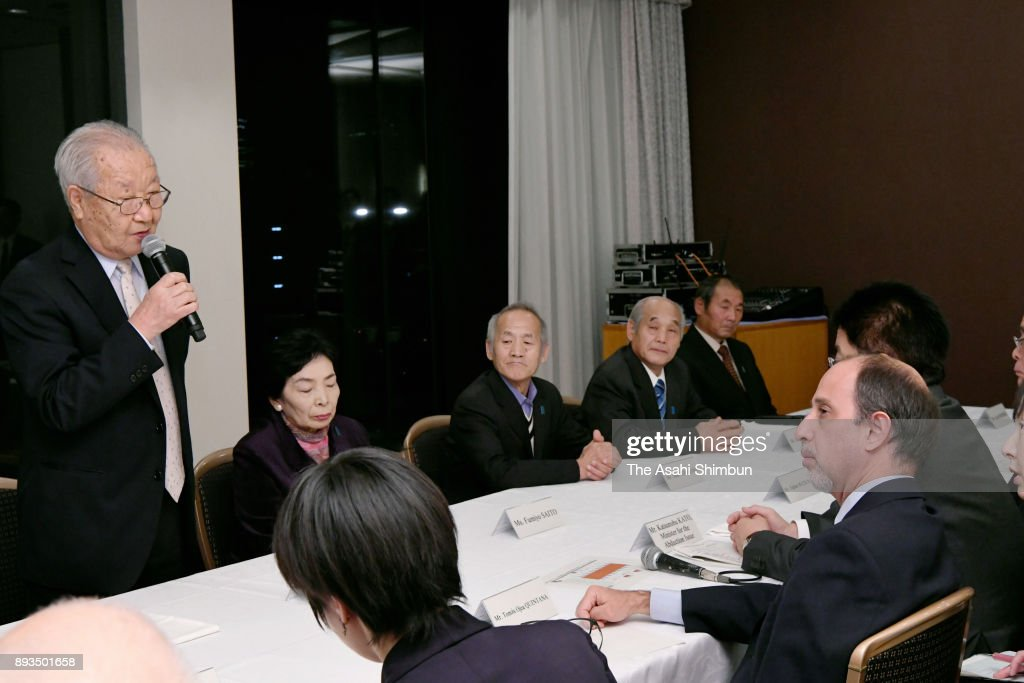 UN Special Rapporteur On Human Rights Situation In North Korea Quintana Visits Japan