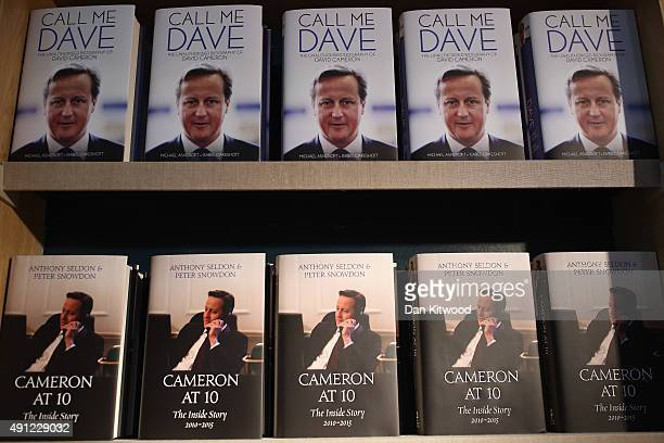 The unauthorised biography of David Cameron 'Call Me Dave' by Michael Ashcroft and Isabel Oakeshott and 'Cameron At 10' by Anthony Seldon and Peter...