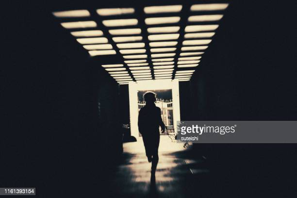 the underpass - spooky stock pictures, royalty-free photos & images