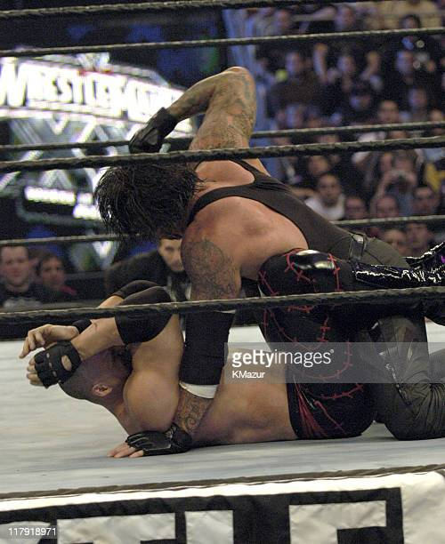 The Undertaker during Wrestle Mania XX at Madison Square Garden in New York City New York United States