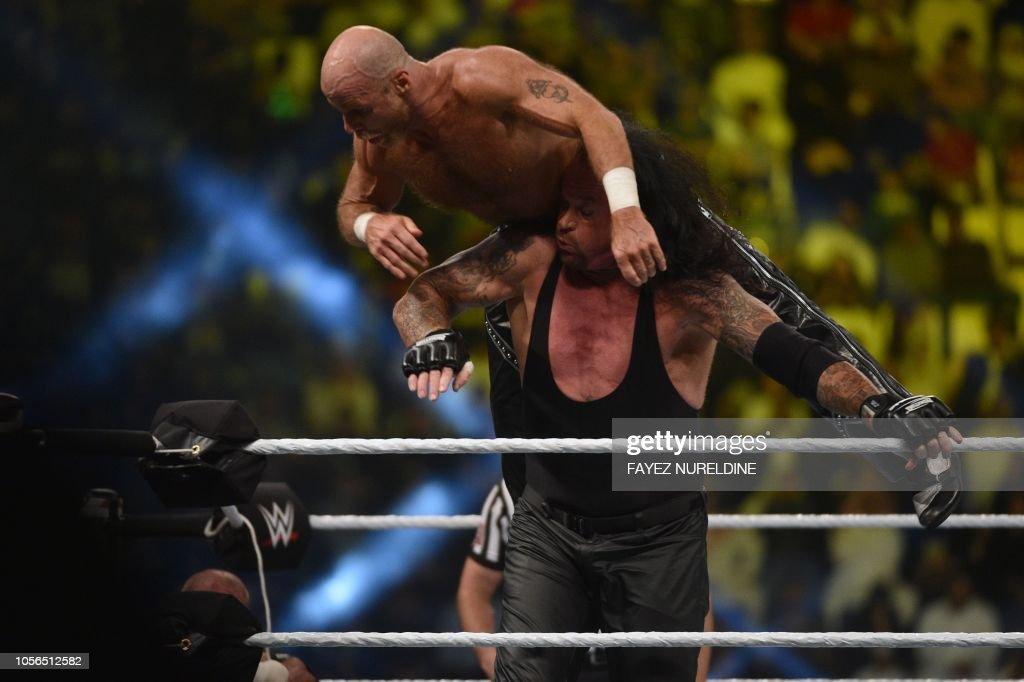 SAUDI-ENTERTAINMENT-WWE : News Photo