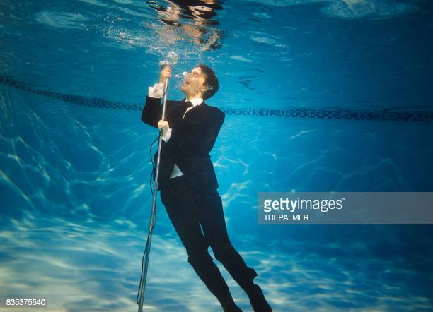 The underwater singer