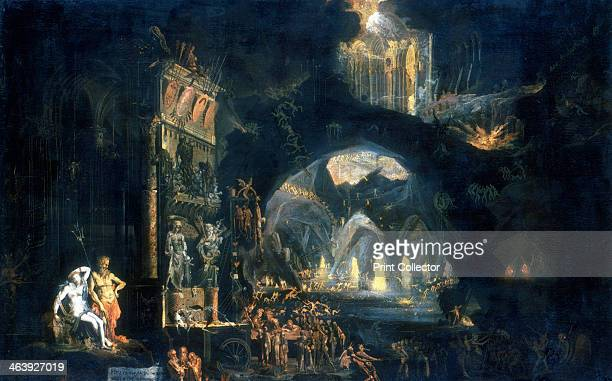 'The Underworld' c1613c1644 On the left Pluto and Persephone King and Queen of the Underworld view their kingdom
