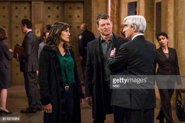 UNIT 'The Undiscovered Country' Episode 1913 Pictured Mariska Hargitay as Lieutenant Olivia Benson Philip Winchester as Peter Stone Sam Waterston as...