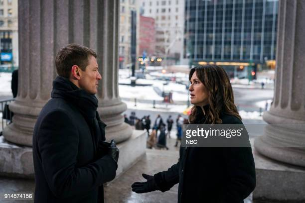 UNIT 'The Undiscovered Country' Episode 1913 Pictured Philip Winchester as Peter Stone Mariska Hargitay as Lieutenant Olivia Benson