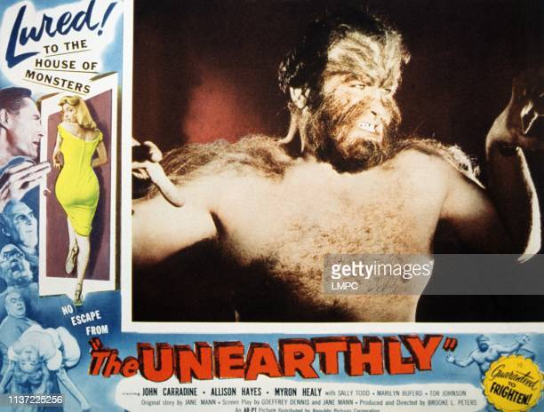 The Unearthly lobbycard Allison Hayes 1957