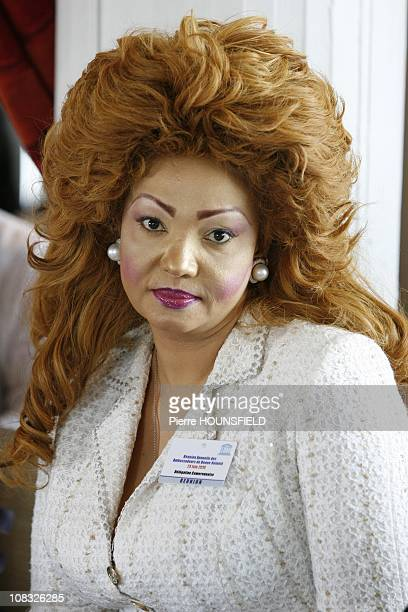 The 'UNESCO Artist for Peace' awards in Paris Chantal Biya in Paris France on June 24th 2010