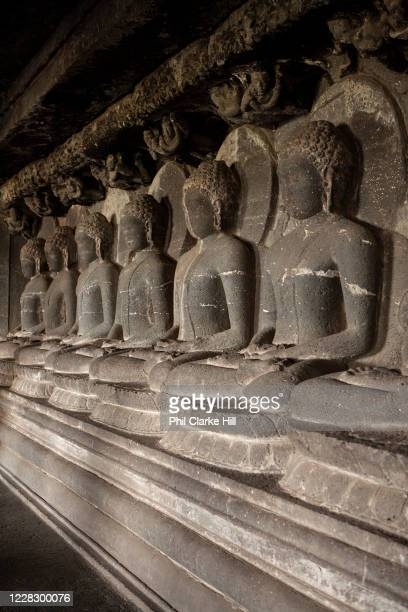 The UNESCO world heritage site of the Ellora cave complex on 12th December 2009 in Maharashtra state, near Mumbai, India. It is one of the largest...