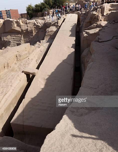 The Unfinished Obelisk of Aswan
