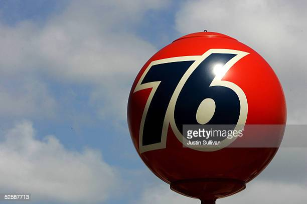 The Union 76 logo is seen at a 76 gas station April 4 2005 in San Francisco California ChevronTexaco Corp the nation's second biggest oil concern is...