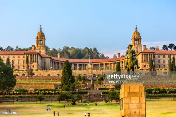 the union buildings in pretoria, south africa - pretoria stock pictures, royalty-free photos & images