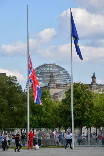 DEU: Boris Johnson Meets With Angela Merkel In Berlin