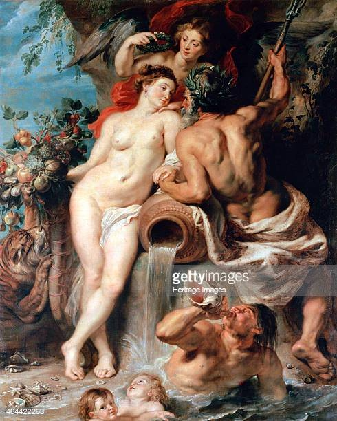 'The Union of Earth and Water ' c1618 Rubens Pieter Paul Found in the collection of the State Hermitage St Petersburg