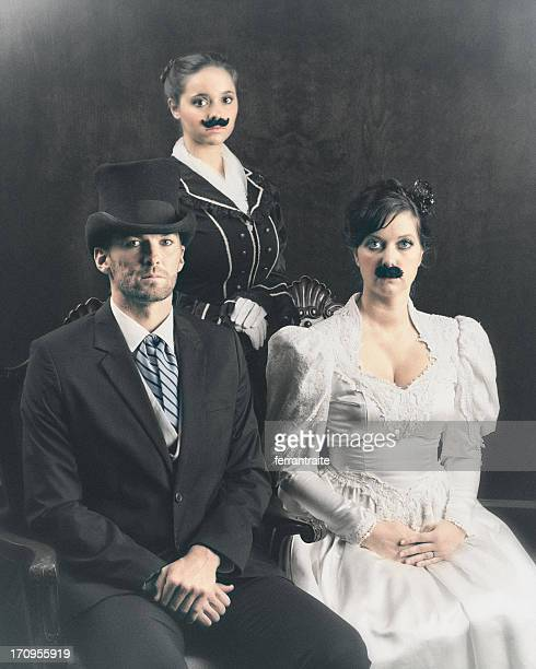 The Unique Mustache Family