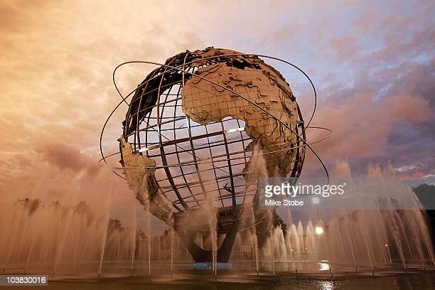The unisphere is seen during day five of the 2010 U.S. Open at the USTA Billie Jean King National Tennis Center on September 3, 2010 in the Flushing...