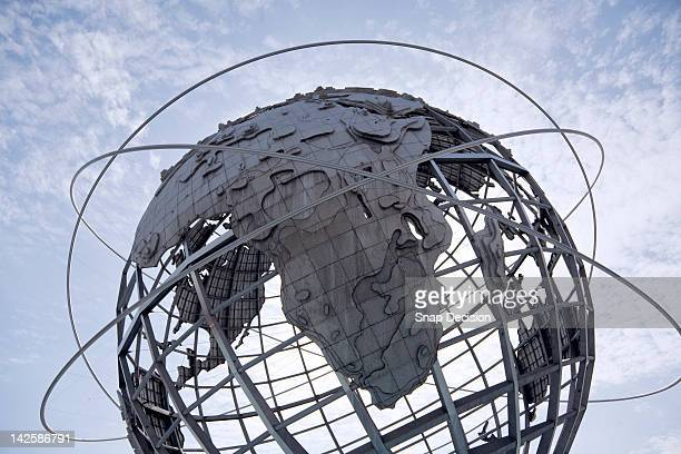 the unisphere, queens, new york city, usa - ユニスフェア ストックフォトと画像