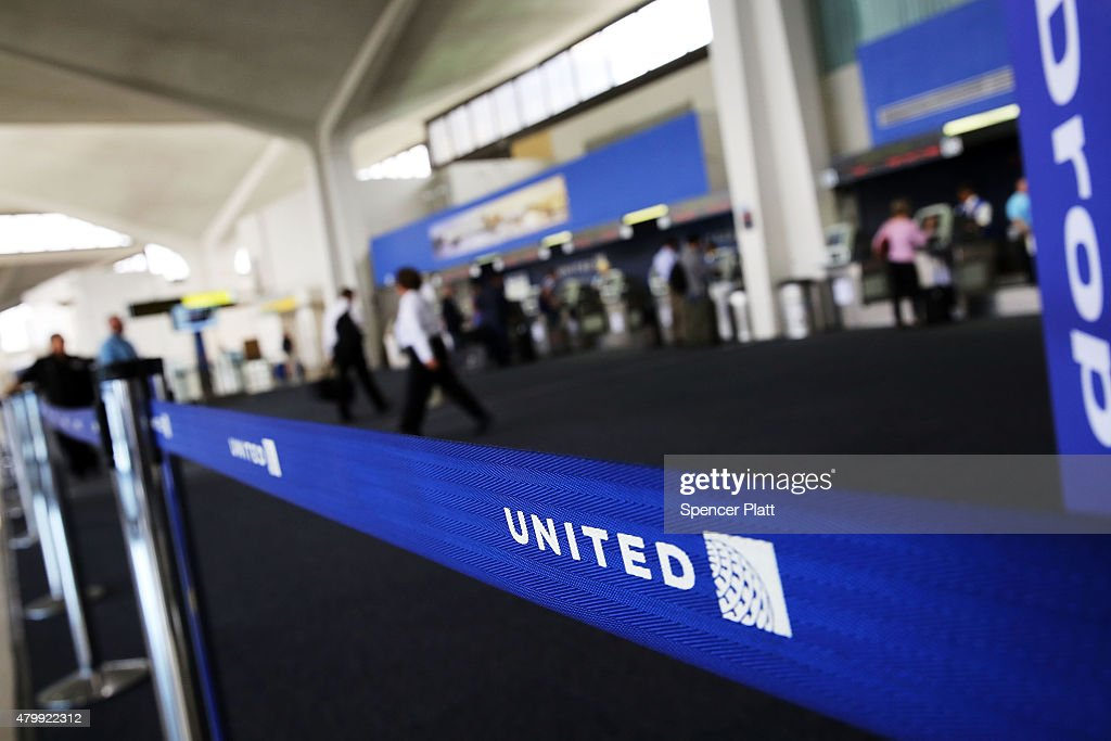 United Airlines Grounds All Flights Worldwide After Computer Glitch : News Photo