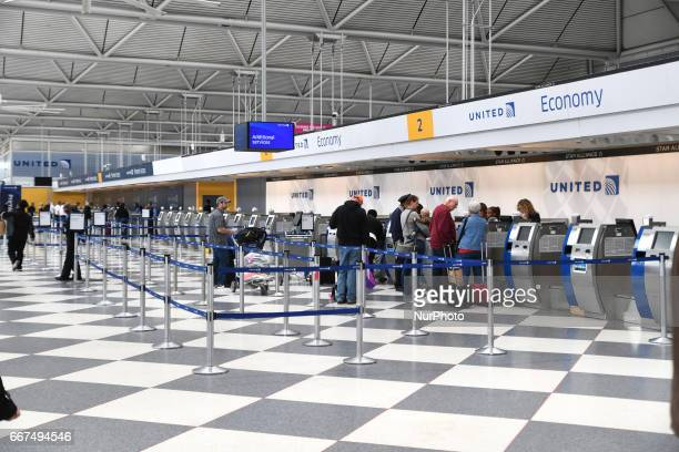 The United Airlines terminal on display at O'hare International Airport on Tuesday April 11 in Chicago IL United Airlines lost nearly a billion...