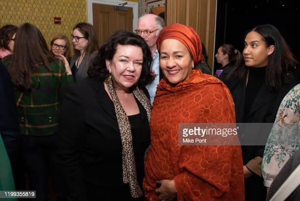 The United Kingdom Ambassador Permanent Representative to the United Nations HE Dame Karen Pierce and Deputy SecretaryGeneral of the United Nations...