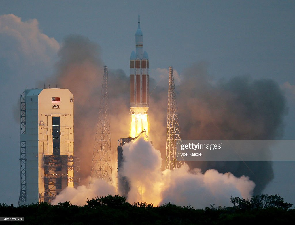 NASA's Orion Spacecraft Launches Unmanned Test Flight : News Photo