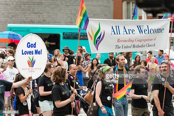 the united methodist church - atheism stock photos and pictures