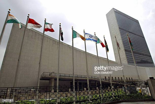 The United Nations headquarters in New York is shown in this photo taken 12 August 2003. AFP PHOTO DON EMMERT
