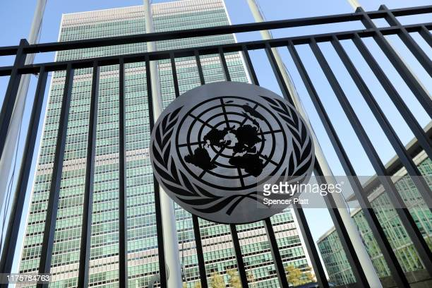 The United Nations headquarters stands in Manhattan on September 19, 2019 in New York City. A man living in New Jersey has been indicted on charges...