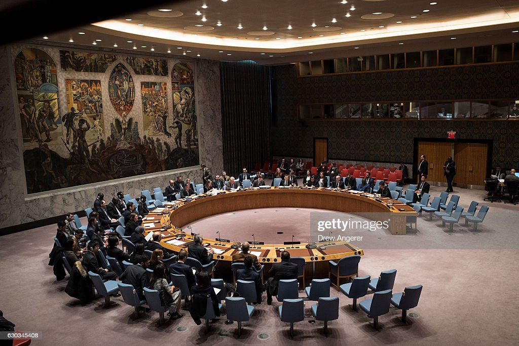UN Security Council Discusses Situation In Syria : Nachrichtenfoto