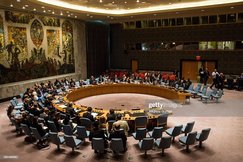 United Nations Security Council Meets On Middle East : Nachrichtenfoto