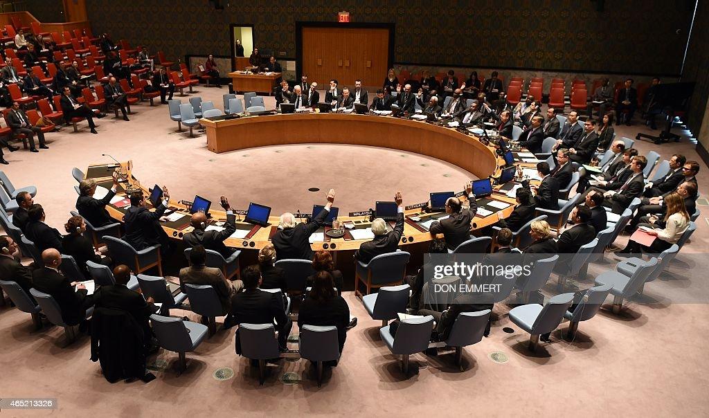 UN-SECURITY COUNCIL-NORTH KOREA : News Photo